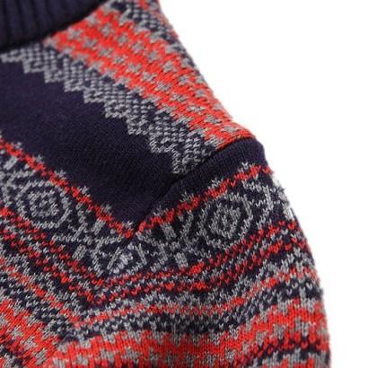 Jersey estampado invierno para niños MMC_hombro