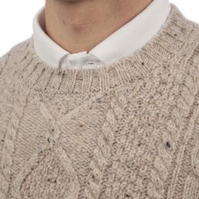 Jersey para hombre England Rugby de cuello redondo_cuello
