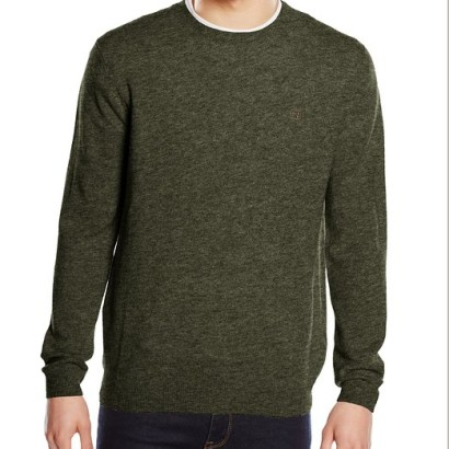 Jersey de lana Pedro del Hierro Geelong_verde