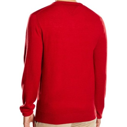 Jersey para hombre Lambswool Tommy Hilfiger_espalda
