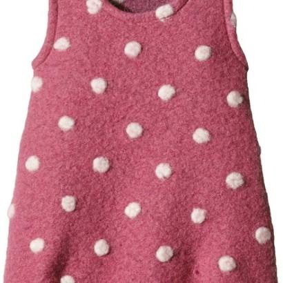 Jersey rosa para niñas de Lana Naturalwear