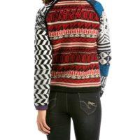 Suéter de mujer Jers Cristina Desigual_espalda