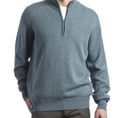 Jersey de lana hombre Great and British Knitwear_gris