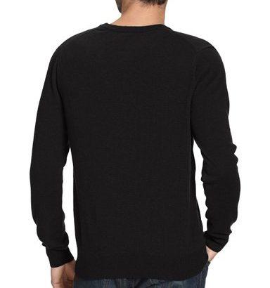 Jersey de lana hombre Lacoste cuello de pico_espalda
