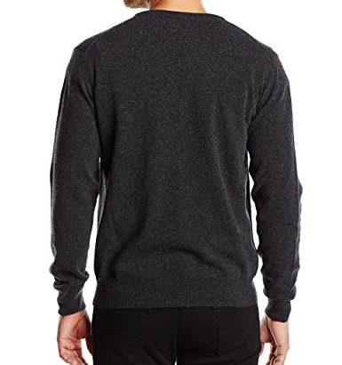 Jersey de lana hombre pico Gant_Espalda