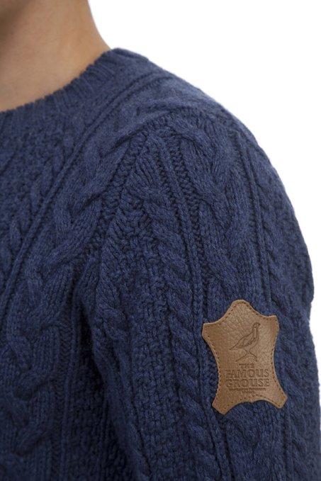 Jersey para hombre The Famous Grouse de cuello redondo_hombro