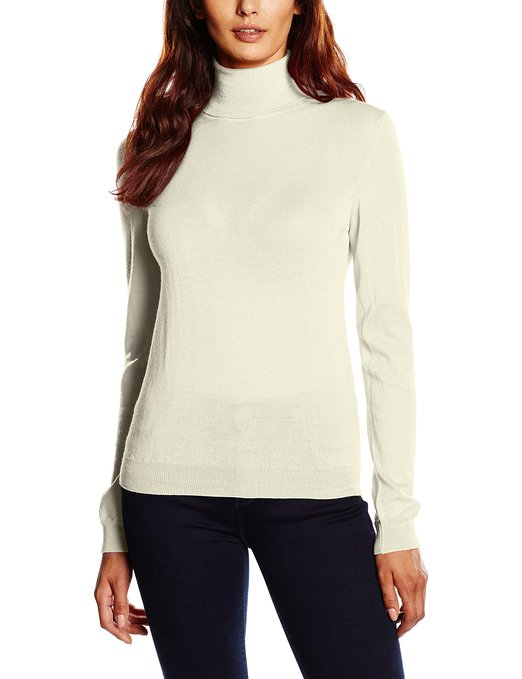 Jersey de lana merina para mujer GANT_blanco