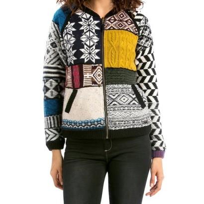 Suéter de mujer Jers Cristina Desigual