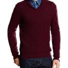 Jersey de lana Pedro del Hierro Shawl Aranes_rojo
