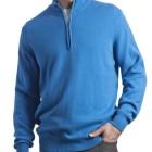 Jersey de lana hombre Great and British Knitwear_azul