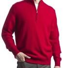 Jersey de lana hombre Great and British Knitwear_rojo