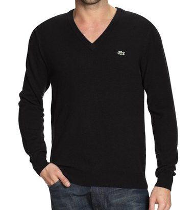 Jersey de lana hombre Lacoste cuello de pico