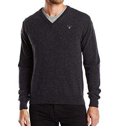 Jersey de lana hombre pico Gant