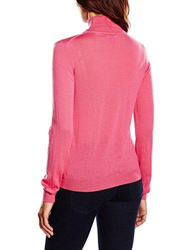 Jersey para mujer cuello de cisne Gant_espalda