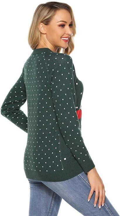 Jersey Navideno Mujer Aibrou Espalda